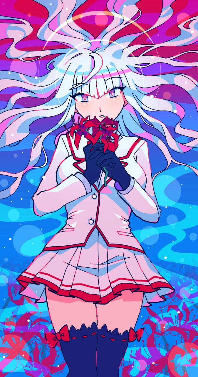 G0DDESS Illust of 5litre YandereSimulatorFanArtContest anime girl pop uniform