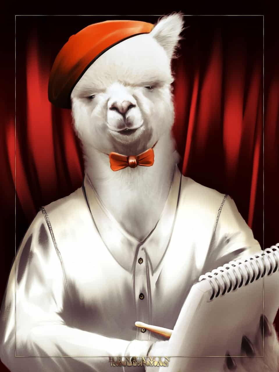 クラウドアルパカ / Cloud Alpaca Illust of Bandit MediBang_General_Election General_Election_CloudAlpaca realistic クラウドアルパカ Alpaca CLIPSTUDIOPAINT Cloud