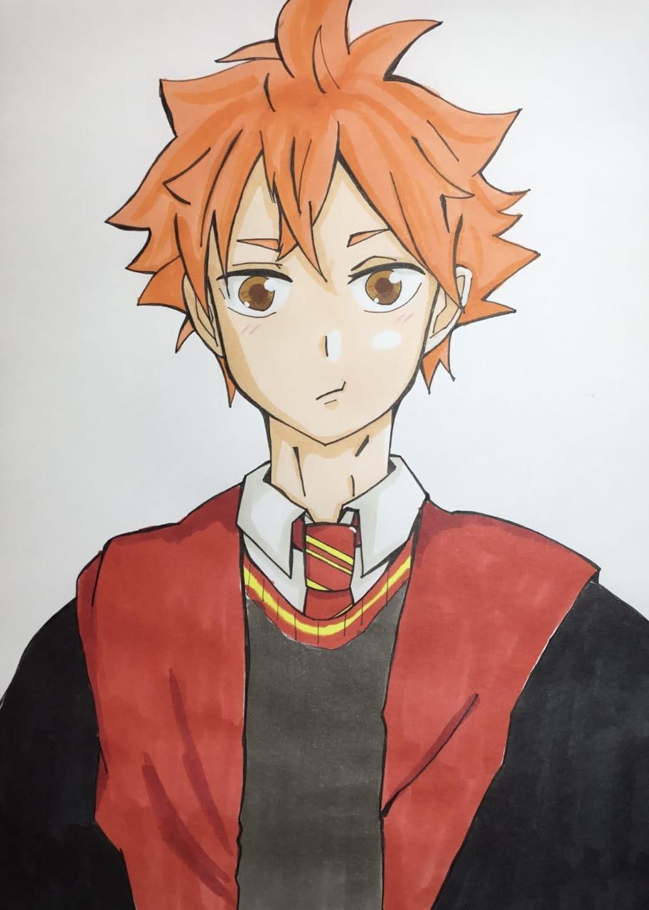 ほっぺあるバージョン Illust of わかな ハリポタパロ Haikyu!! ShōyōHinata