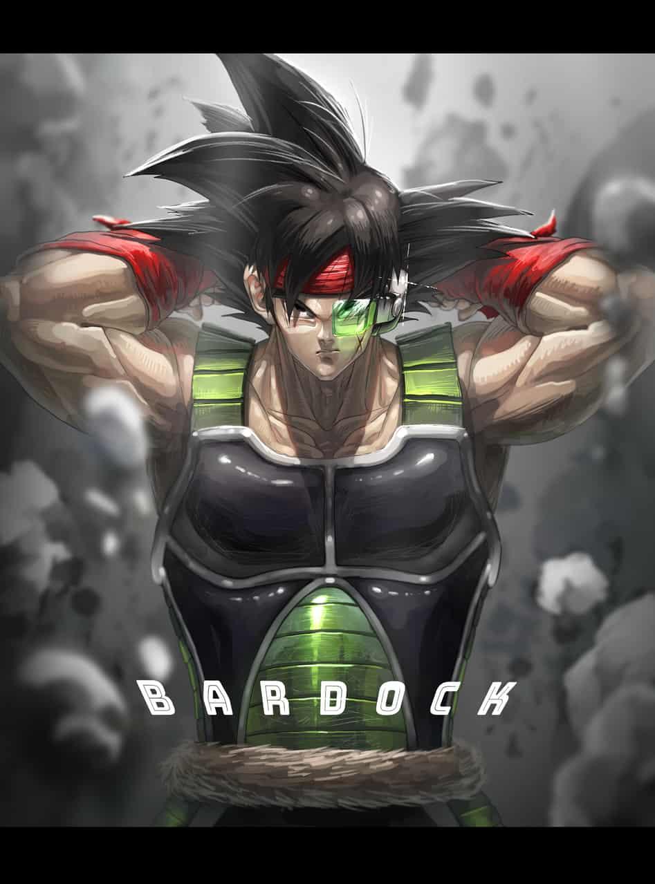 バーダック Illust of Haru DRAGONBALL ドラゴンボールZ バーダック DragonBallZ