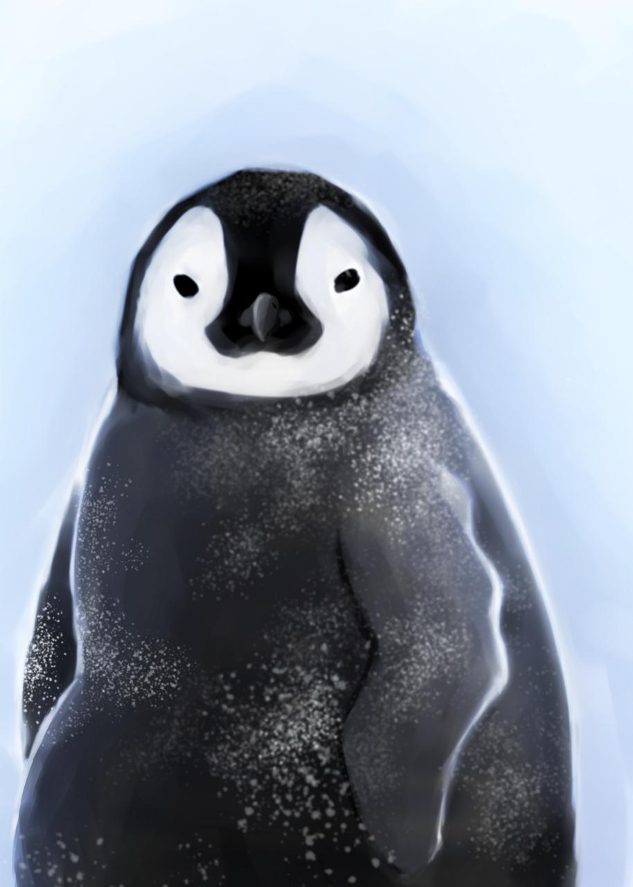 모작 Illust of 자라 / Jara medibangpaint Penguin