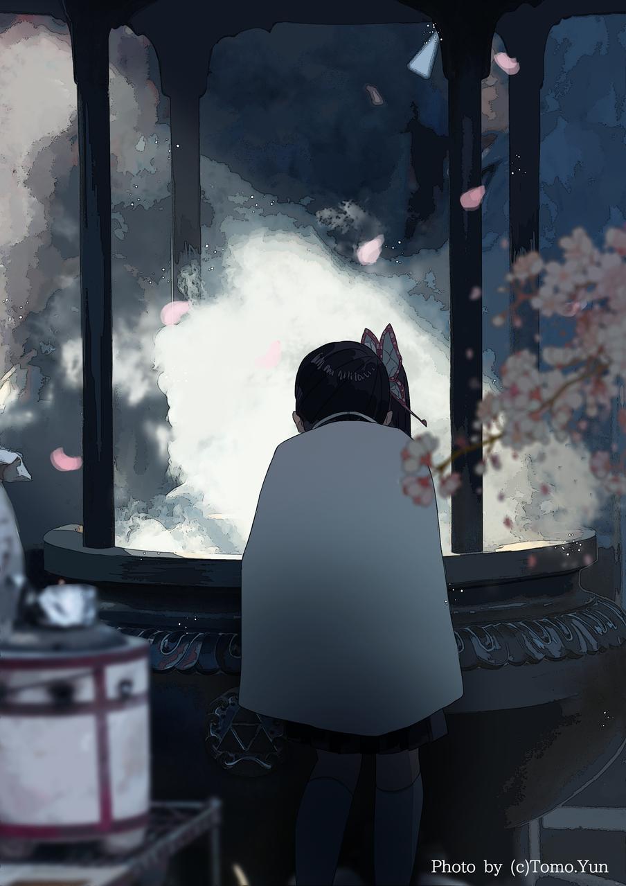 虚 Illust of Rinry anime KimetsunoYaiba