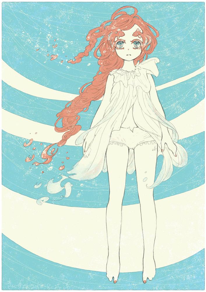 かこ え 13 Illust of 氏← Personification 過去絵