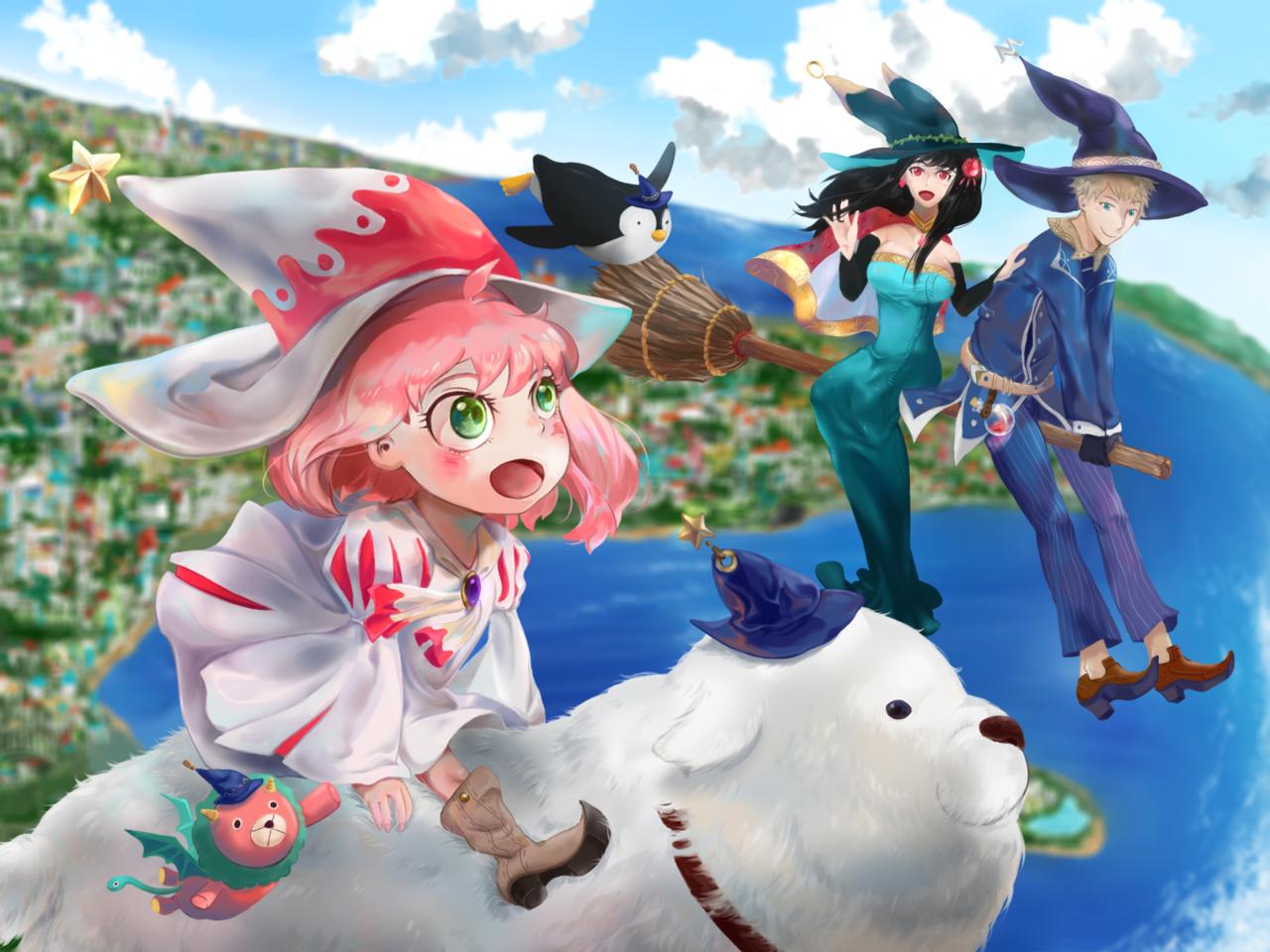 魔法參上!! Illust of IKUKO SPY×FAMILY_Contest SPY×FAMILY illustration アーニャ・フォージャー 間諜家家酒