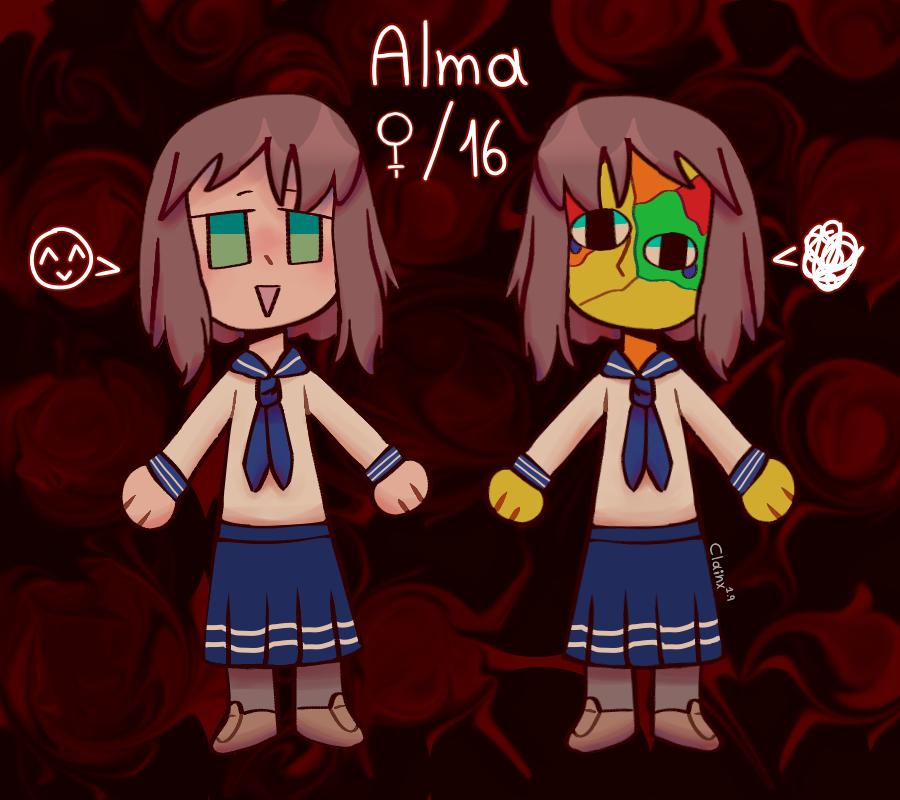Alma es buena, ella no te hará daño. Illust of Clainx1.9 medibangpaint girl oc cute miedo