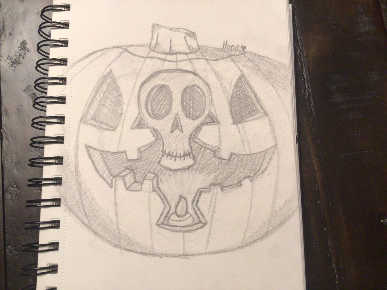 Pumpkin  Illust of CadillacBoi pumpkin sketch Halloween