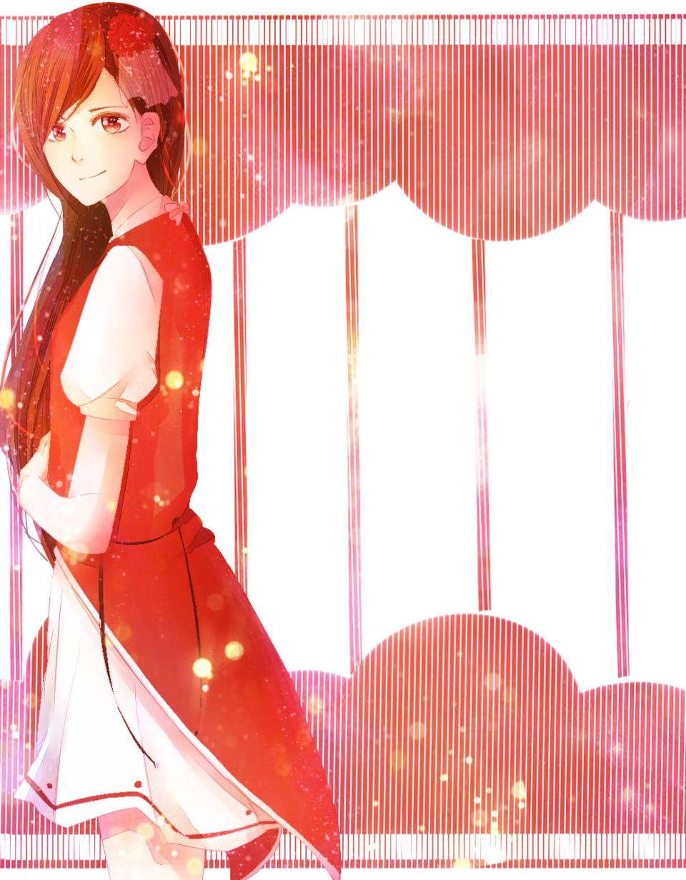 落書き Illust of akesato original girl doodle