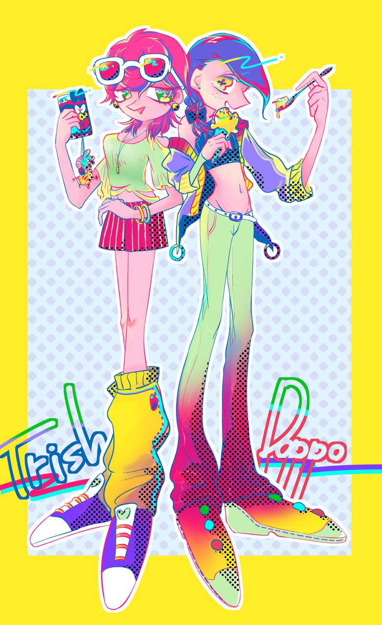 トリッシュとドッピオ