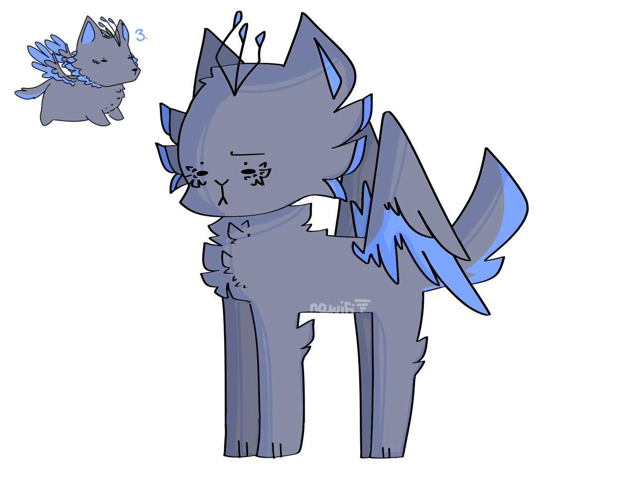 adopt I got from Zero :0 (I need names-) Illust of RiiRen medibangpaint