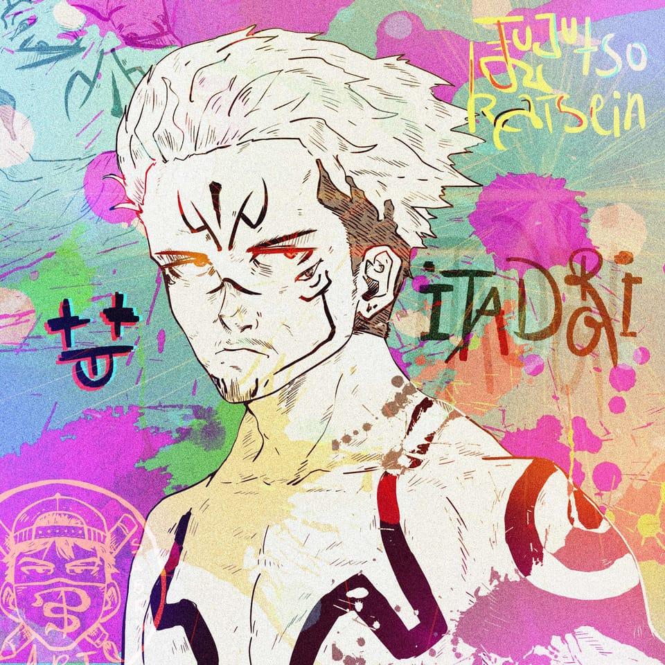 Itadori Illust of taha sabry JujutsuKaisenFanartContest JujutsuKaisen