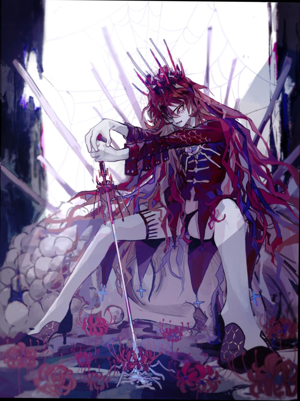彼岸の女王 Illust of 塩ながす January2021_Contest:OC