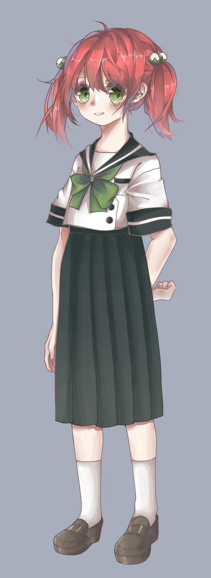 水手服少女
