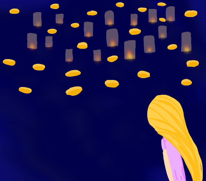 Random doodle into drawing Illust of Snow | Denki Mode disneyprincess Disney ;m; inspiredbymusic Tangled meep 🌸❄️Sakura❄️🌸 reeee repunzel
