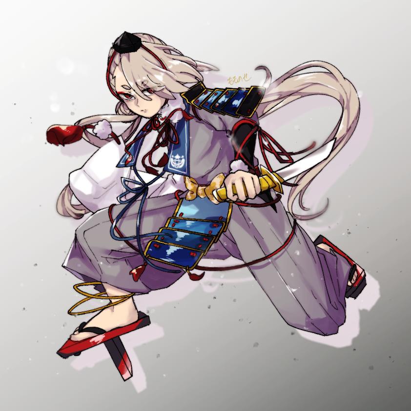 いまのつるぎ Illust of もものせ Touken_Ranbu 今剣