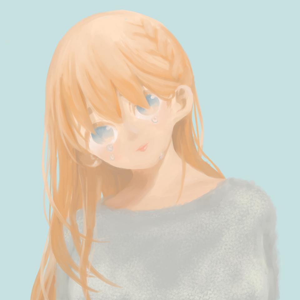 厚塗りっ!! Illust of ト・リ・コ・ス・ケ おんなのこ impasto お絵かき doodle