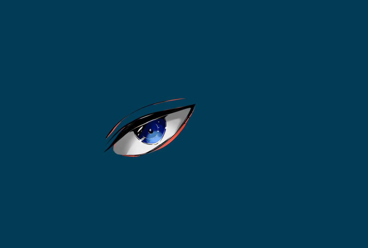 目! Illust of もず medibangpaint