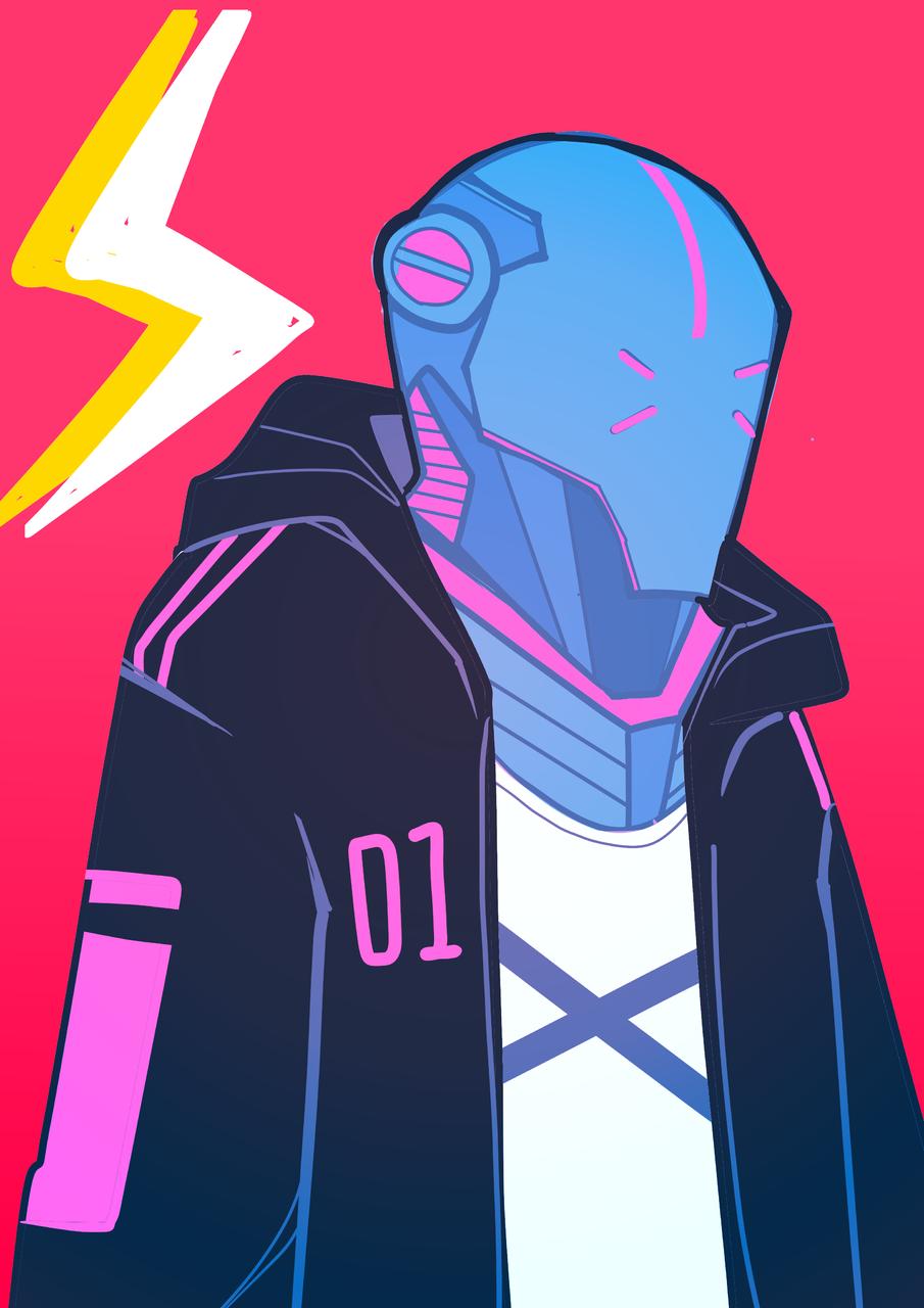 Illust of James November2020_Contest:Cyberpunk medibangpaint