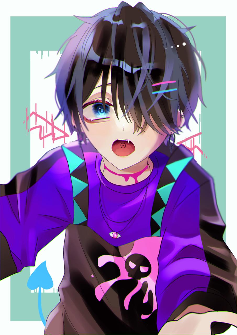 🔷 Illust of ゆぎ digital illustration boy original oc