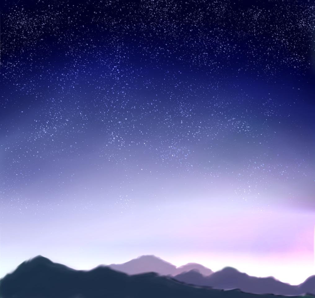 練習! Illust of 如月来蕾 シニソウダオ medibangpaint space 山 朝日 original もう何処かで見たやつ practice