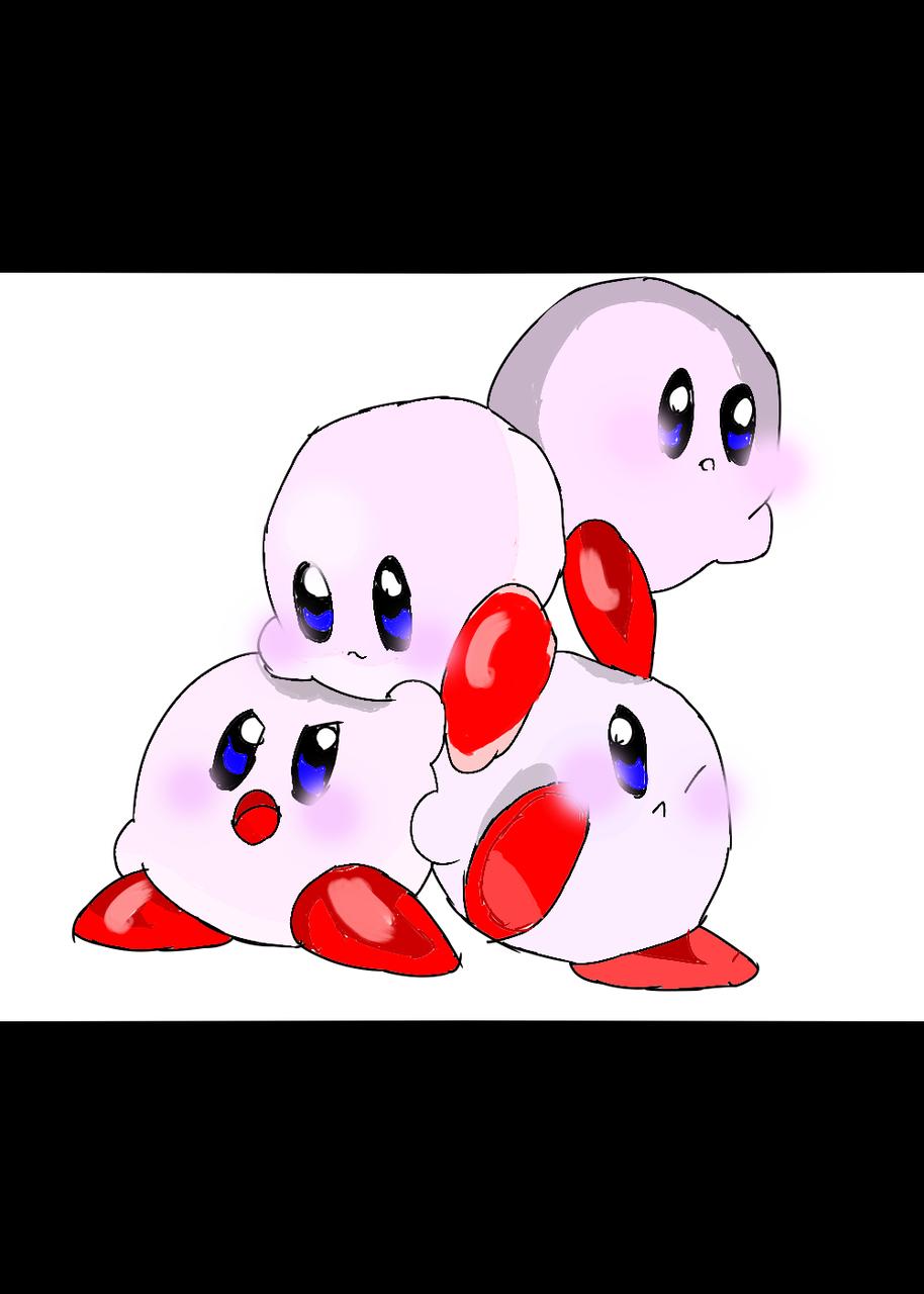 보통 단단한 커비  Illust of 별페니 귀차나 character ㅂㄷㅂㄷ Kirby