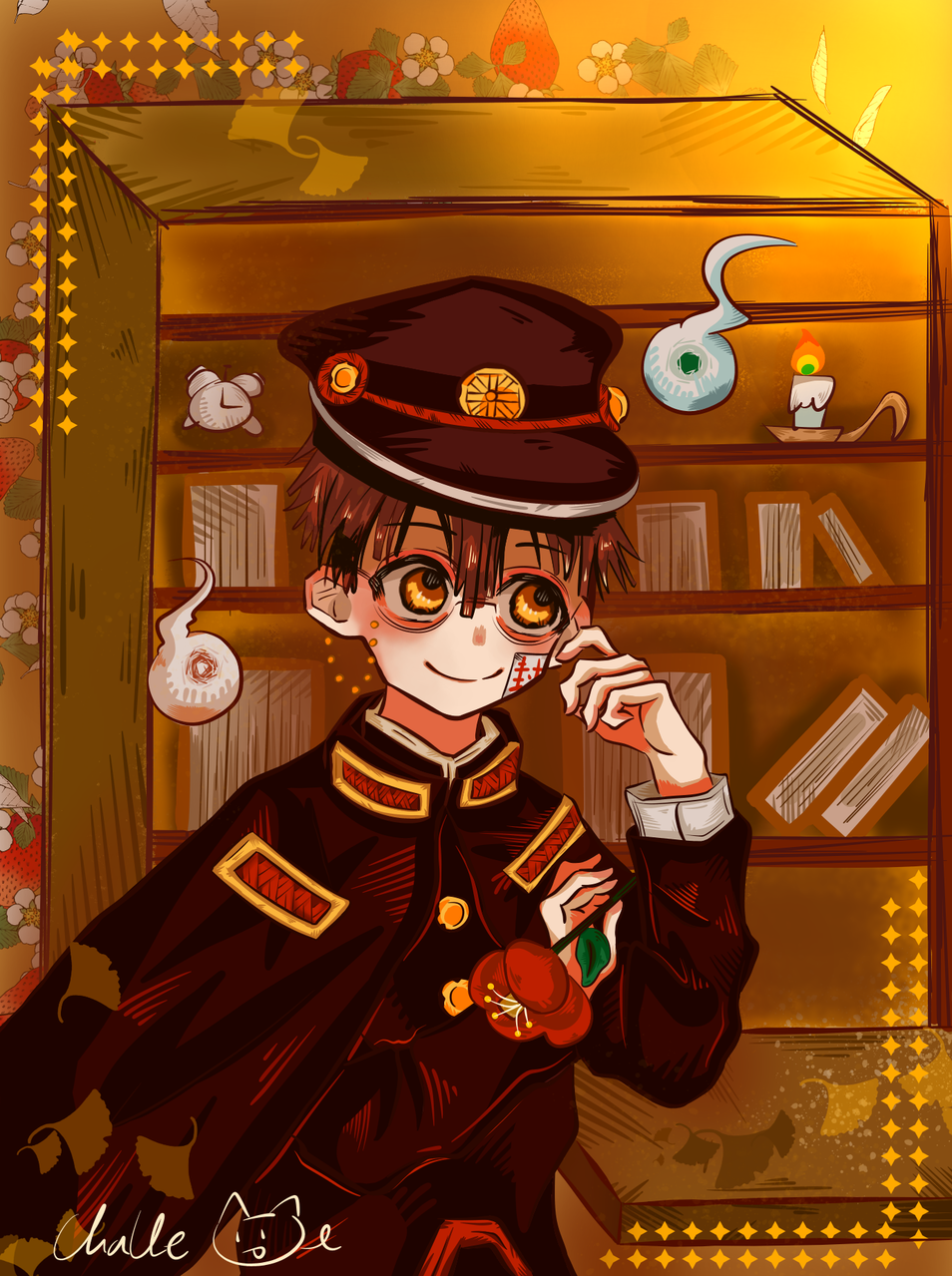 waiting--- Illust of challe medibangpaint Toilet-boundHanako-kun 花子君 同人