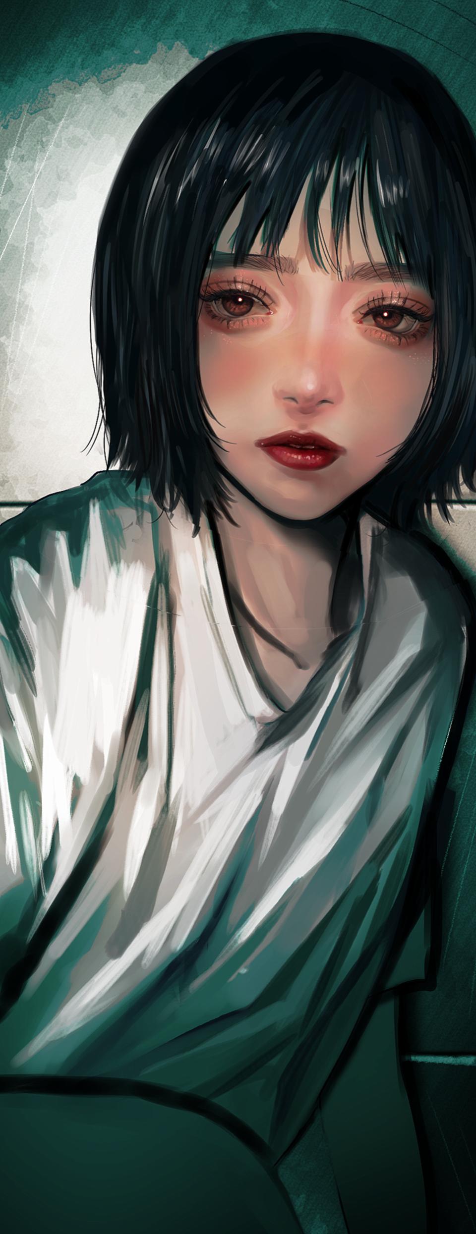 2:04 Illust of logA original girl impasto