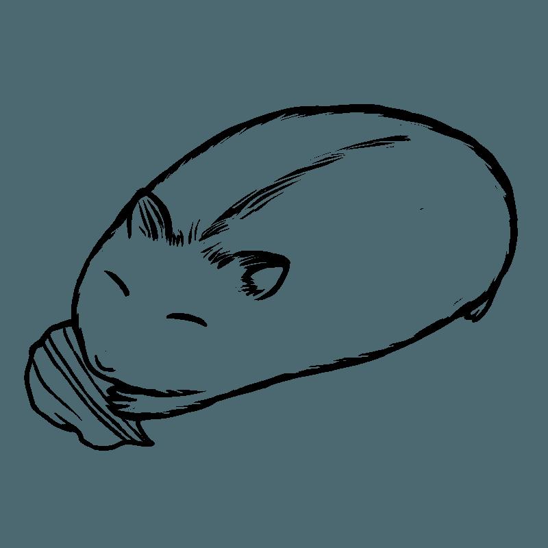 幸せな時間 Illust of 夜明ほしこ Digital_Fireworks Hamster