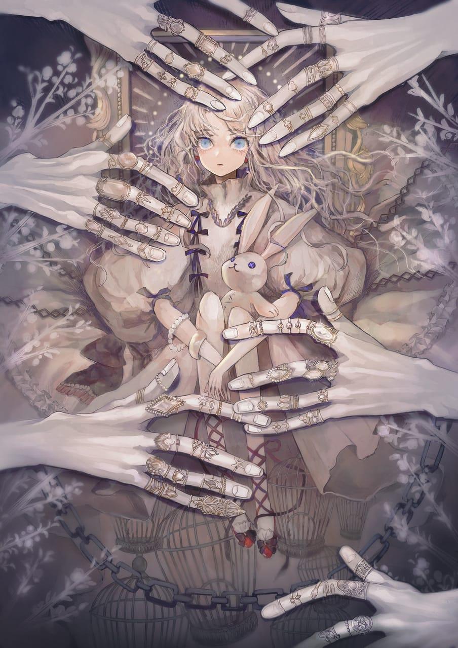 蝶よ花よ Illust of あり girl original