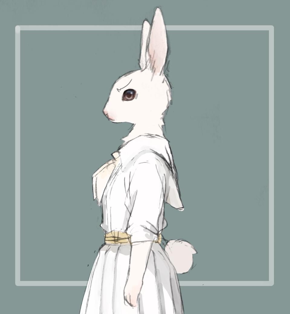 生氣兔子學姊