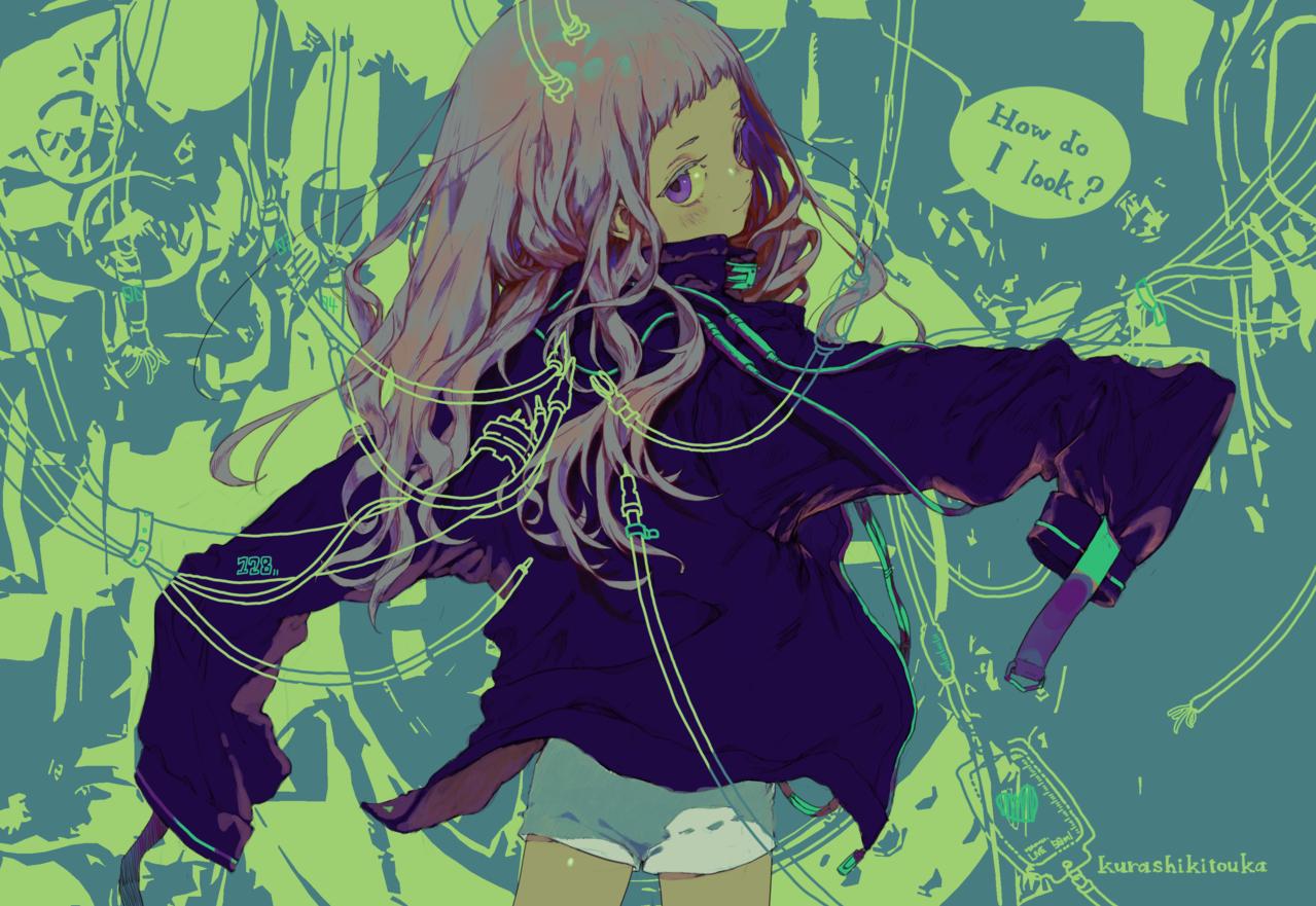 Hurly Burly Illust of 倉敷藤花 girl original