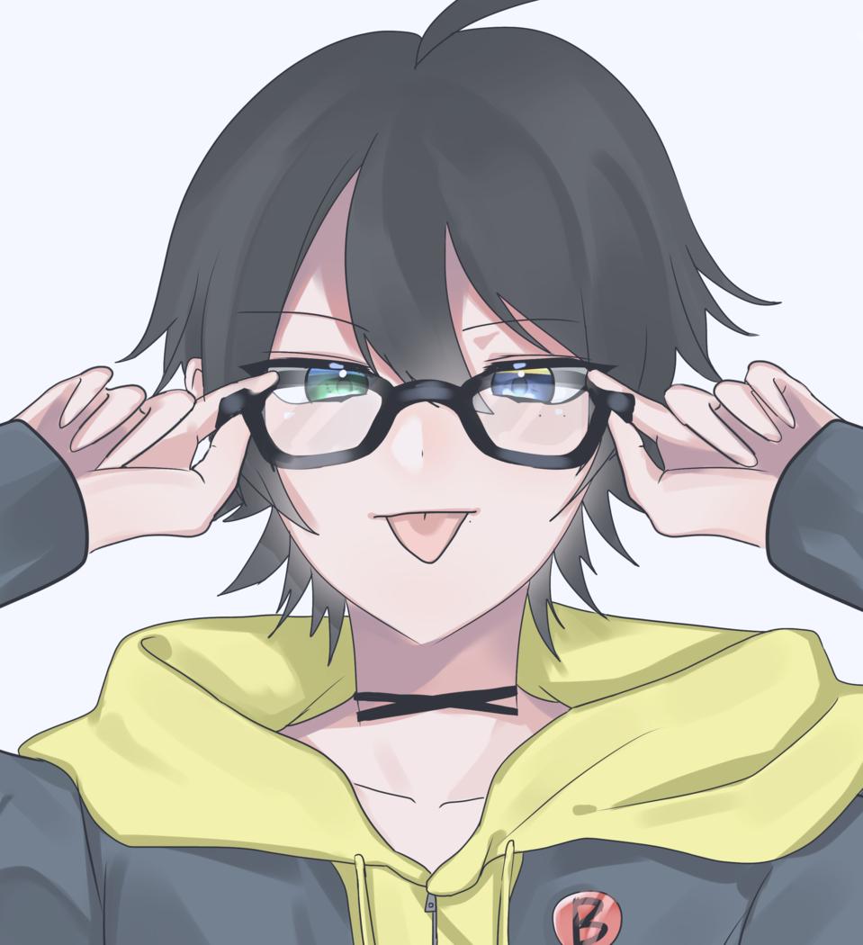 三郎 Illust of みつ HypnosisMic glasses SaburoYamada kawaii