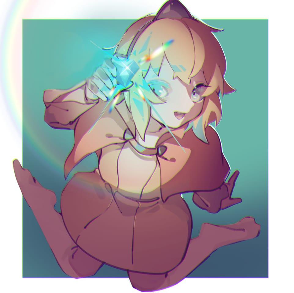Princess Illust of 黑桐 GuardianTales Awesome FuturePrincess GenshinImpact
