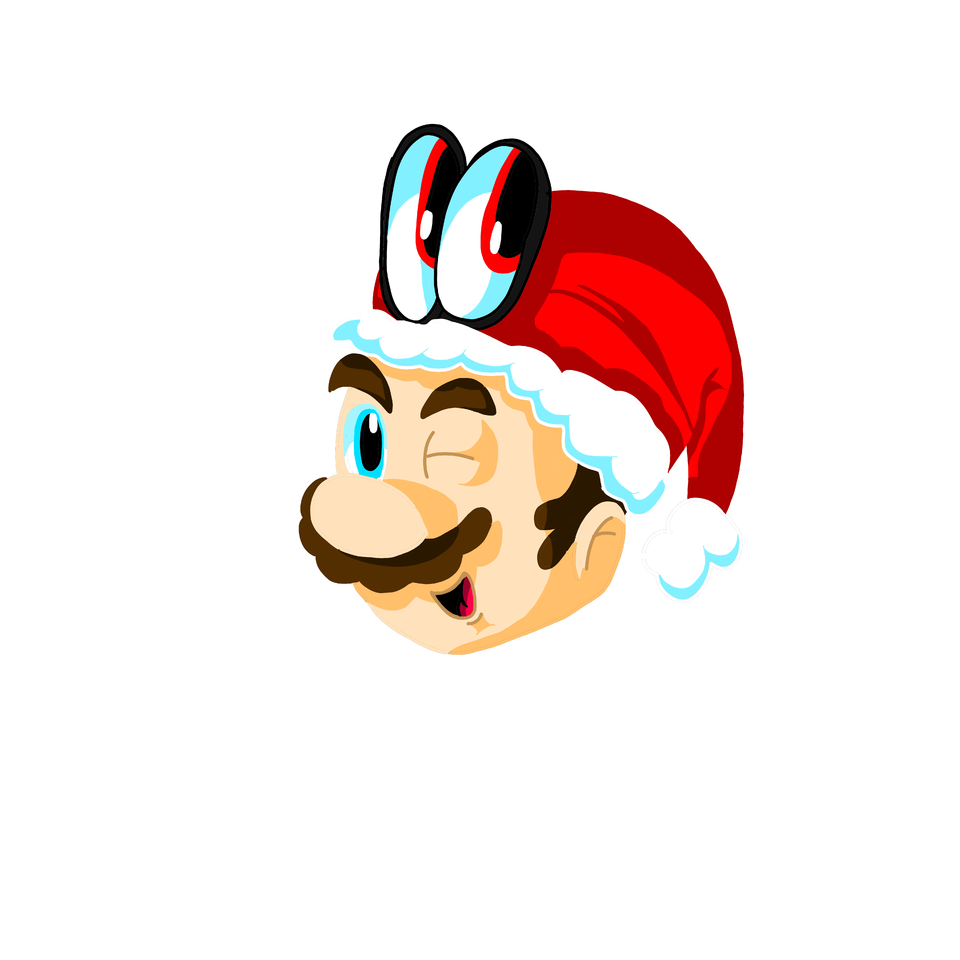 Christmas Mario Png.Mario And Cappy Christmas Bulletcap Illustrations