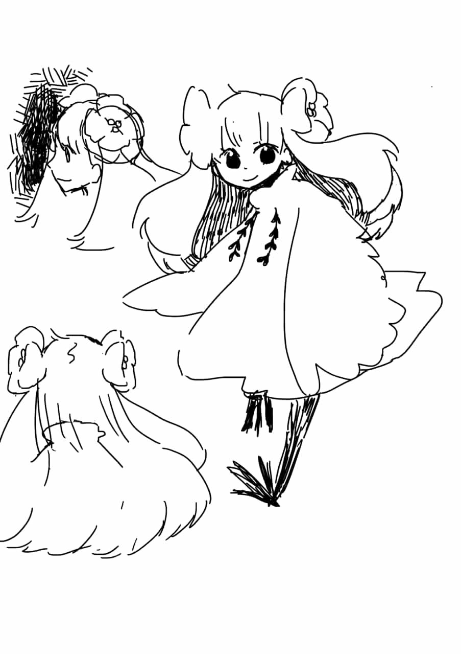花咲き少女