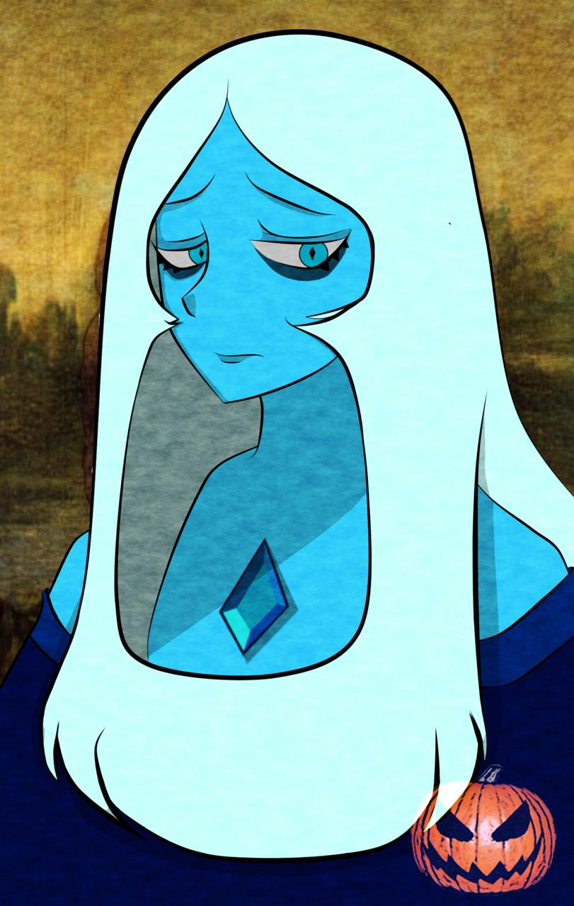 la blue gioconda
