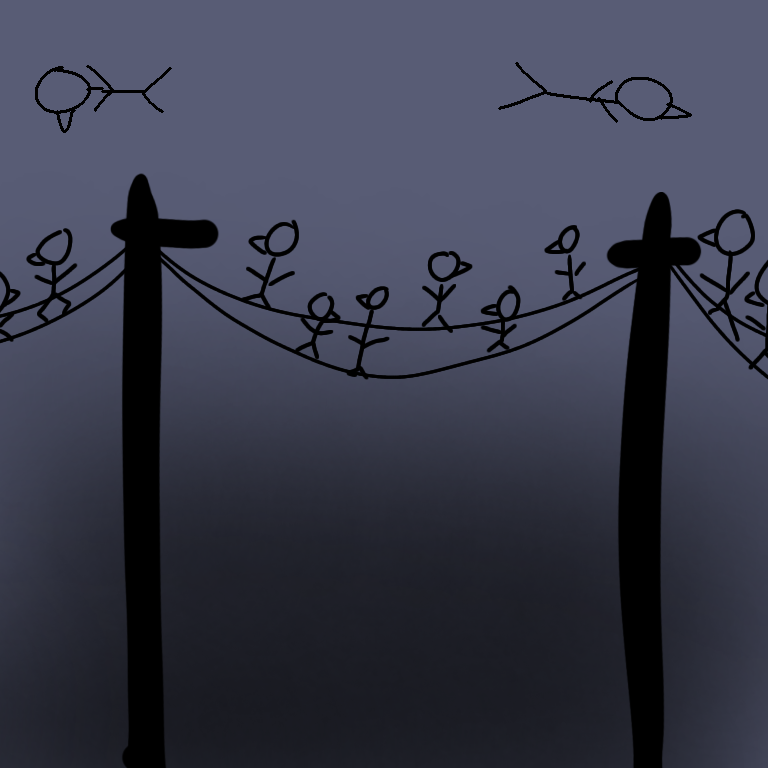 Crows Illust of ******* 1hDrawingChallenge animal