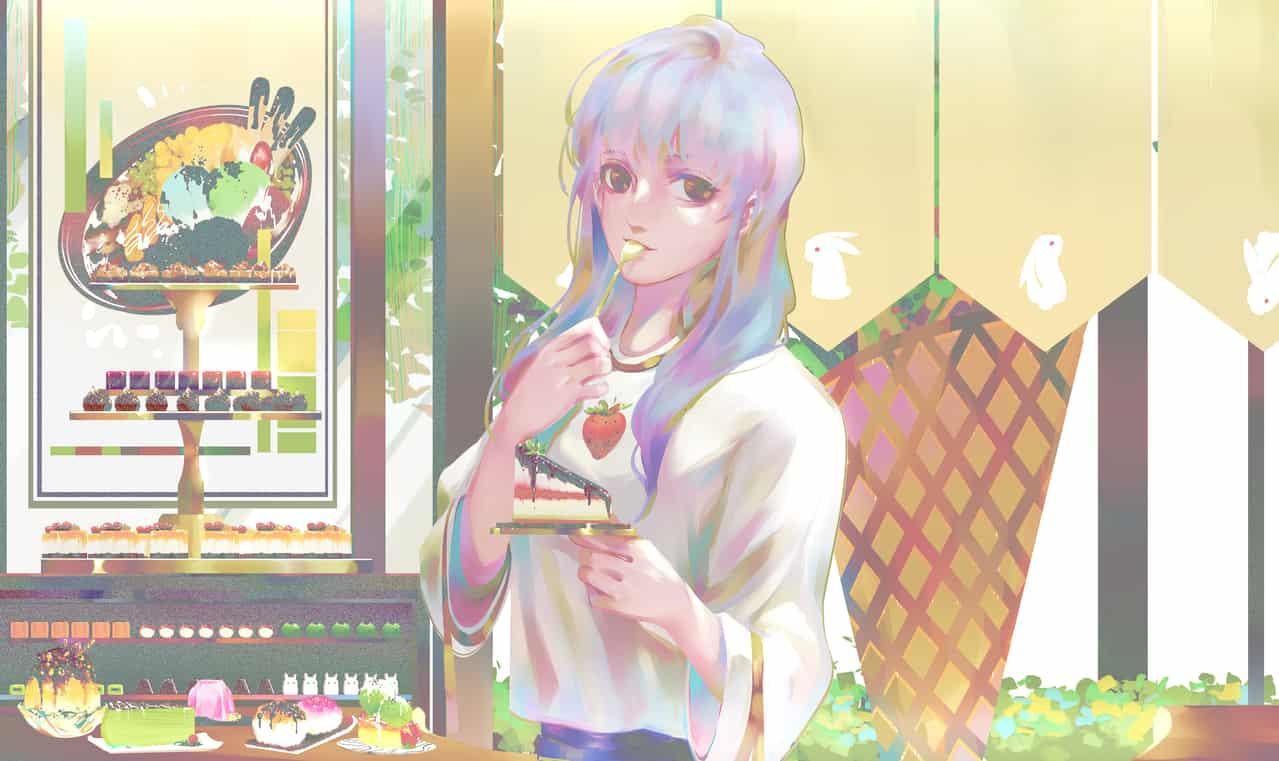 你要不要来点甜点~ Illust of 荀白茶司 October2020_Contest:Food portrait illustration original
