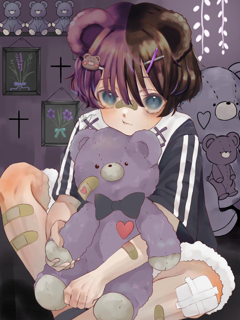 Illust of ぐら ぺぴ子 June2021_Anthropomorphism oc original boy