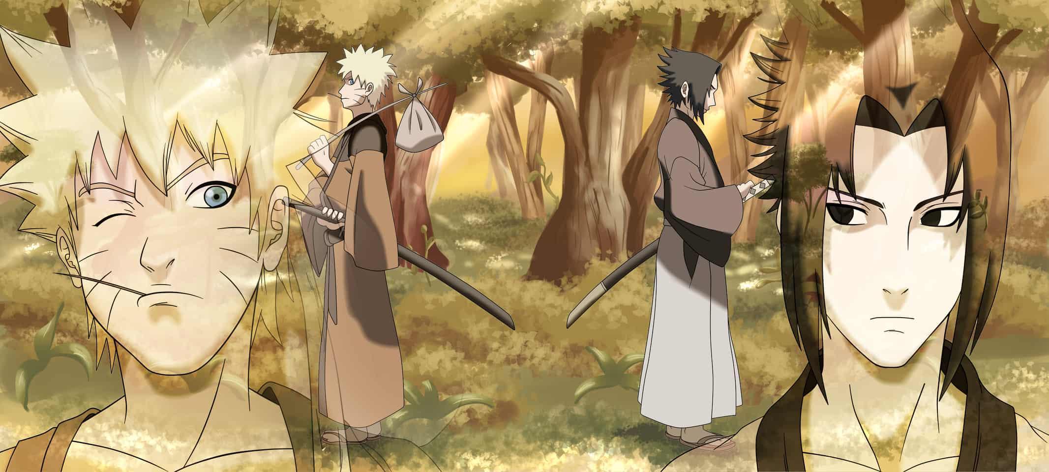 Naruto vs Sasuke ED 6 Version