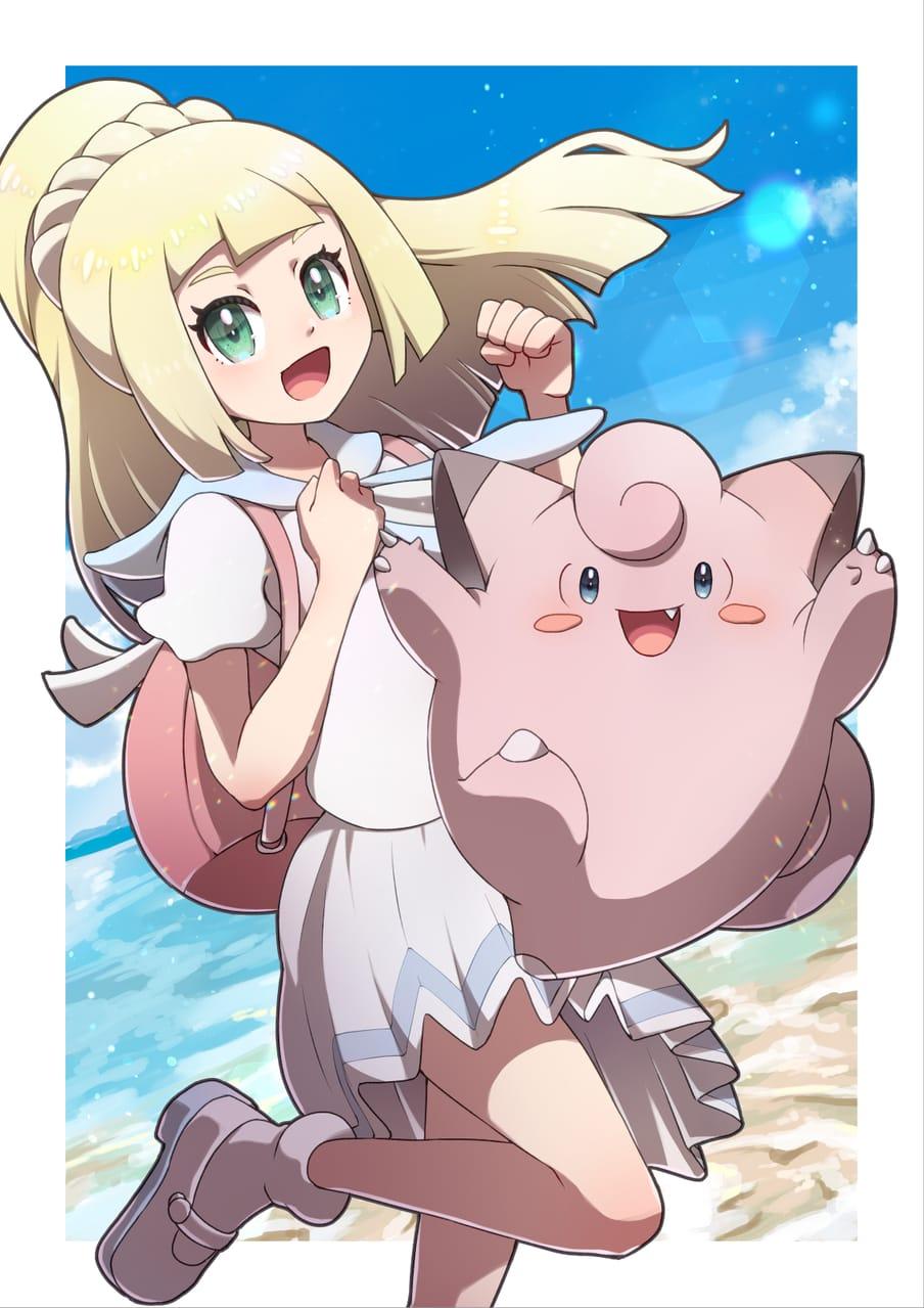 がんばリーリエ Illust of 日夏なつお リーリエ pokemon ポケモンSM