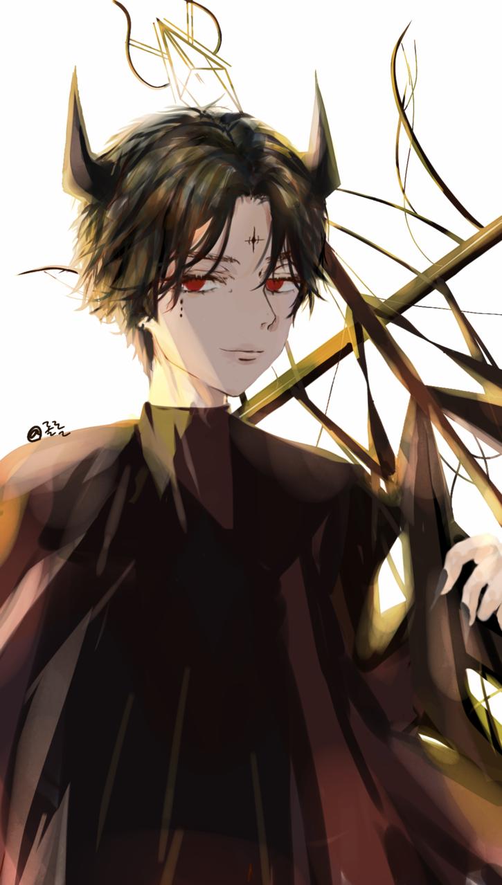 악마들 Illust of 롤롤 girl practice painting medibangpaint character illustration demon boy original art