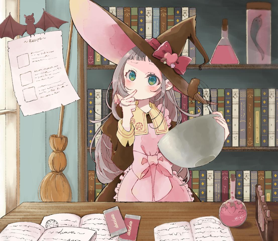 No love portion Illust of 咲くら子 Feb2020:VDAY チョコレート witch original girl Valentine