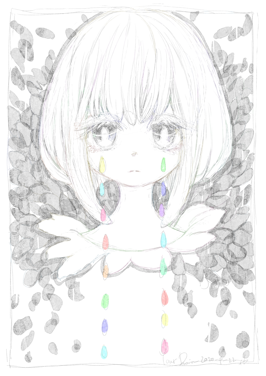 Your Rain Illust of 氏← April.2020Contest:Color