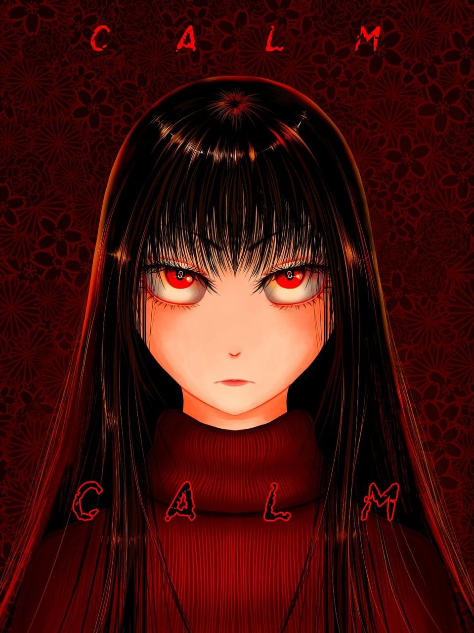 CALM Illust of VioletHoshimi medibangpaint girl original