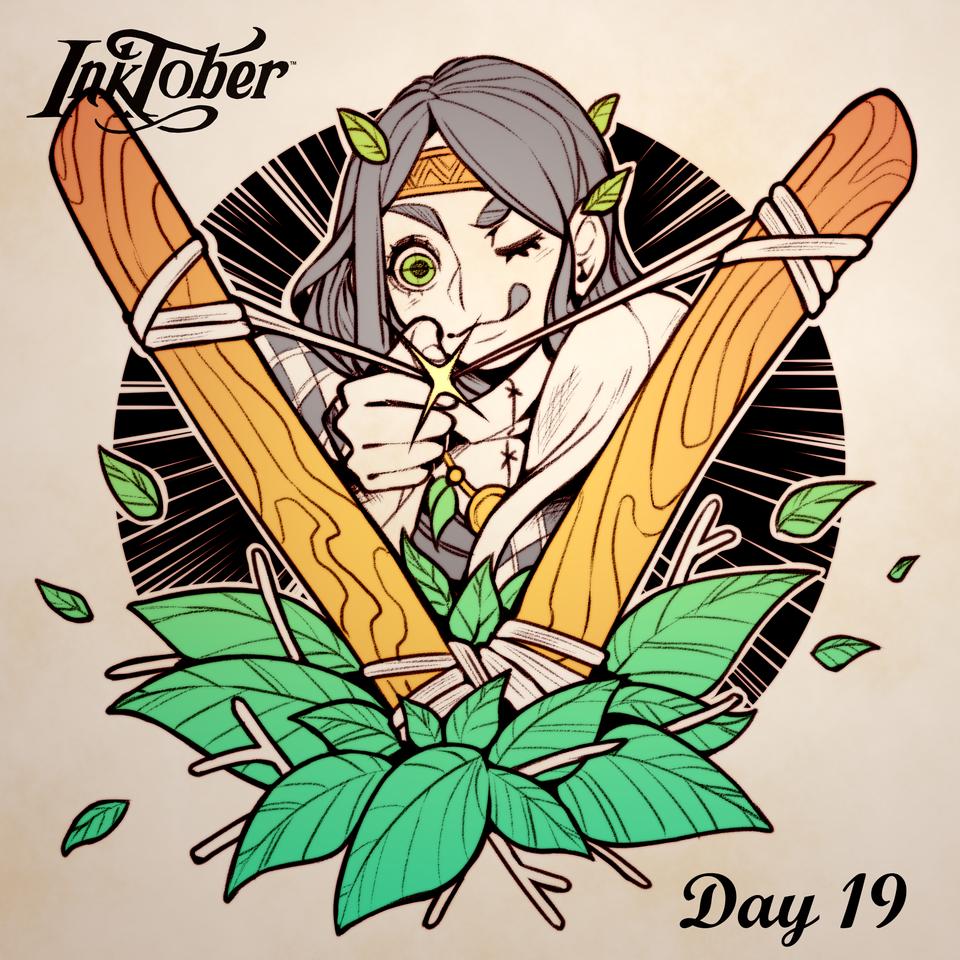 Inktober DAY 19: Sling