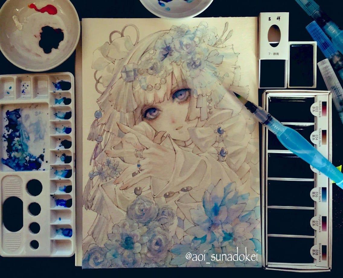 青花 Illust of 青砂時計