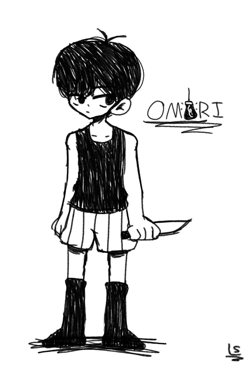 ~ OMORI ~ Illust of 𝕃𝕒𝕟𝕚_𝕊𝕒𝕝𝕒𝕞𝕚 ♥ omocat fanart Omori