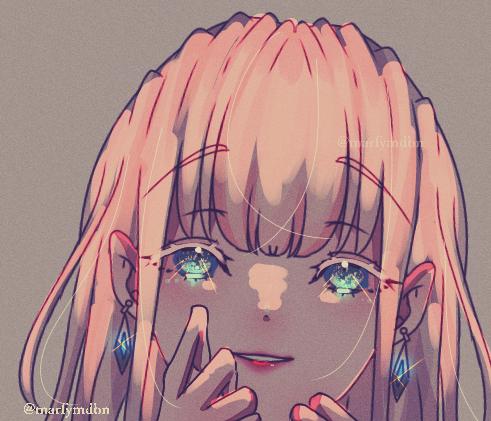 ぶりっ子ようふふふ Illust of Marfy blonde girl ぶりっ子 kawaii 宝石 きらきら 結婚して下さい