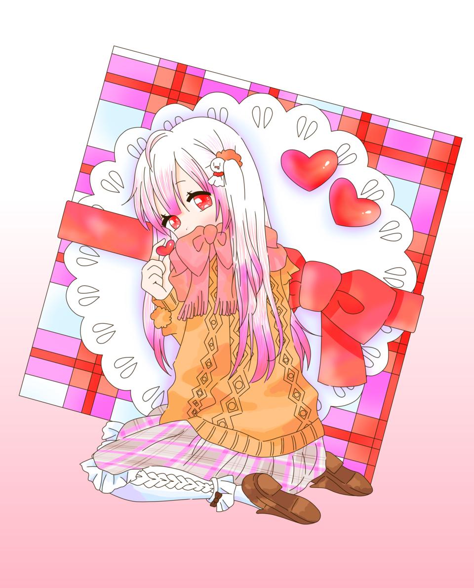 チョコっとの答え(ゆすらうめ様) Illust of 桜 宮美 桜宮美 singer ゆすらうめ mafumafu チョコっとの答え