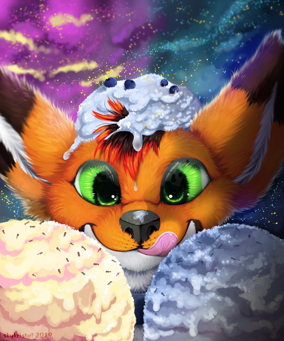 Lots of Ice cream (C)